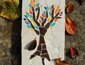 Obraz, który przedstawia drzewo