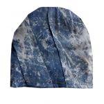 Czapka błękitna, jeansowa - czapka niebieska błękitna jeansowa