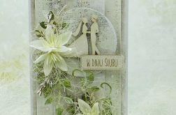 Kartka ślubna z młodą parą vol.6 w pudełku