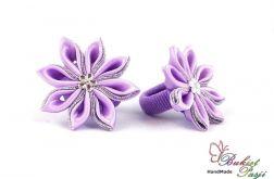 Gumka do włosów fioletowe