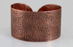 Piasek - miedziana bransoletka 130301-05