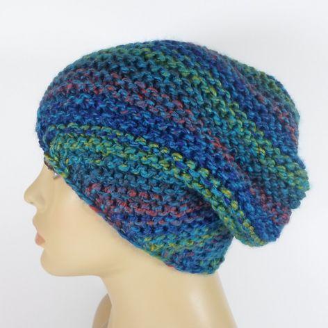 Cieniowana czapka typu beanie