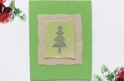 Kartka  świąteczna minimalizm 81