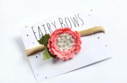FairyBows opaska bezuciskowa kwiatek