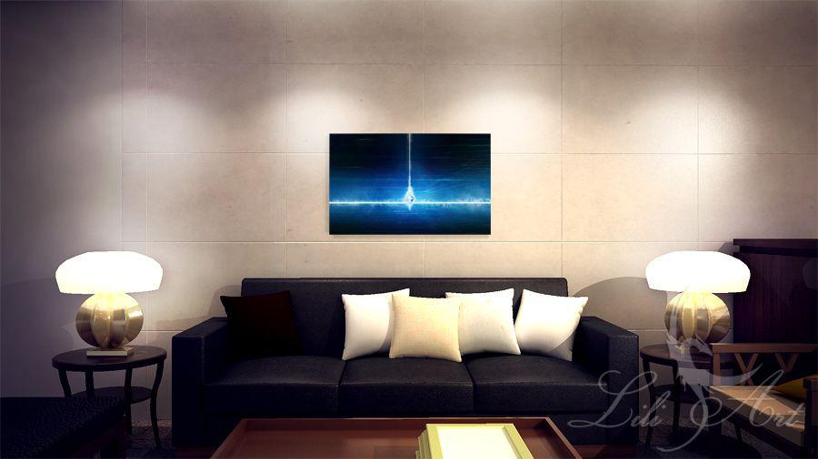 Obraz energetyczny - Medytacja - płótno