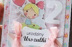 Kartka urodzinowa dla dziewczynki UDP 013