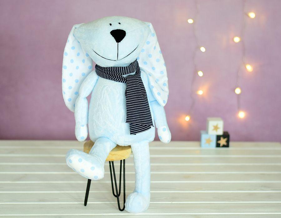 maskotka przytulanka zabawka króliczek Blue