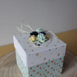 Pudełko niespodzianka z harmonijką