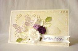 Krem z fioletem na ślub