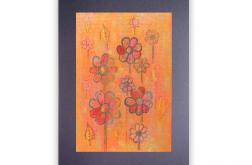 Rysunek kwiaty nr 24 - dekoracja na ścianę