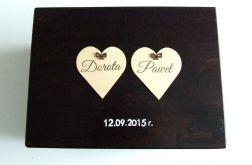 "Ślubne pudełko na koperty ""Rustic Love"""