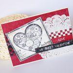 My sweet Valentine - Kartka walentynkowa