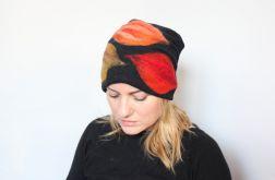 czapka filcowana P1 czarna