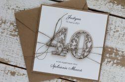 Kartka urodzinowa na 40 urodziny 1