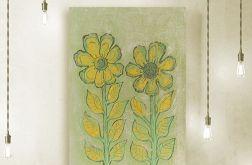 Kwiaty 18 - rysunek dekoracyjny szkic kwiaty