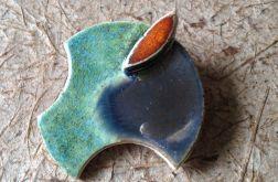 Broszka ceramiczna GEO kolor