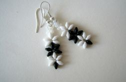 Biało-czarne kwiaty