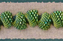 bransoletka w zieleniach