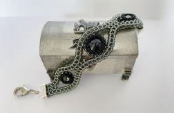 Bransoletka z kryształkami Swarovskiego