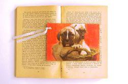 Zakładka vintage-psy
