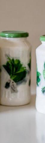 Ozdobne słoiki ziołowe