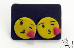 Emotikonki kolczyki