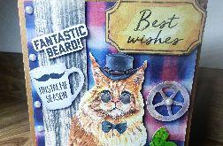 Kartka okolicznościowa #2 beard broda hipster