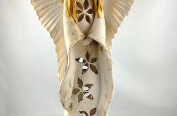 Anioł ceramiczny ażurowy