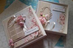 Zestaw pudełko i kartka Rocznica, ślub 4