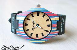 Drewniany zegarek PARROT