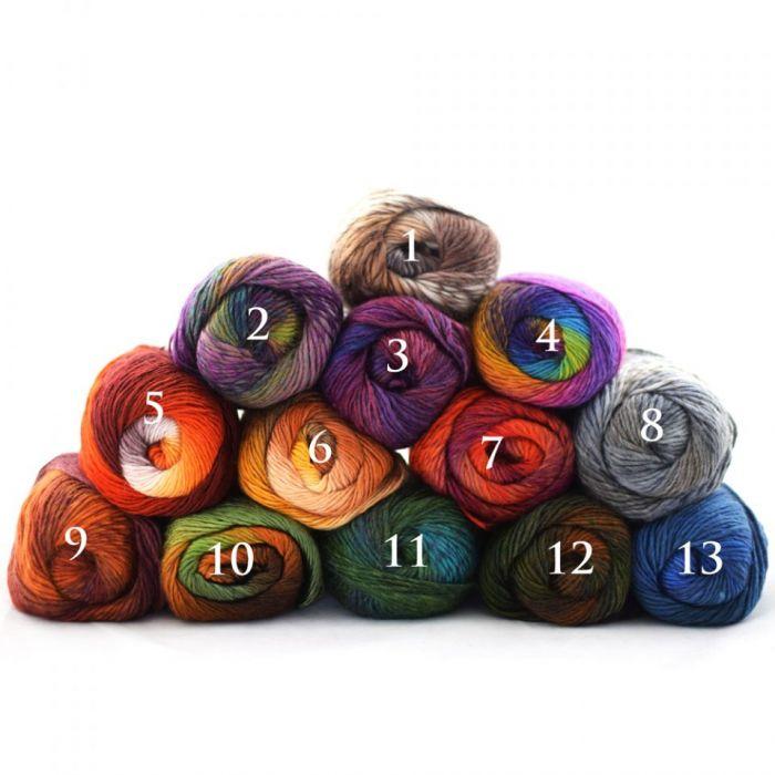 różne kolory - komplet ażurowy