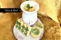 Citrus & Basil - sojowy wosk zapachowy