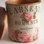 Romantyczny pojemnik - Romantyczne pudełko