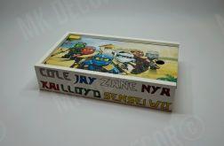 Pudełko na kredki/zabawki Lego Ninjago