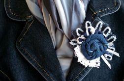 Broszka II-Kolekcja Blue Jeans