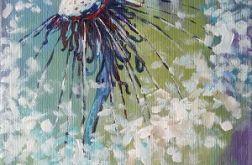 Dmuchawiec -obraz akrylowy formatu 20/20 cm
