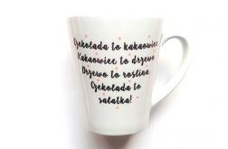 KUBEK Latte CZEKOLADA I