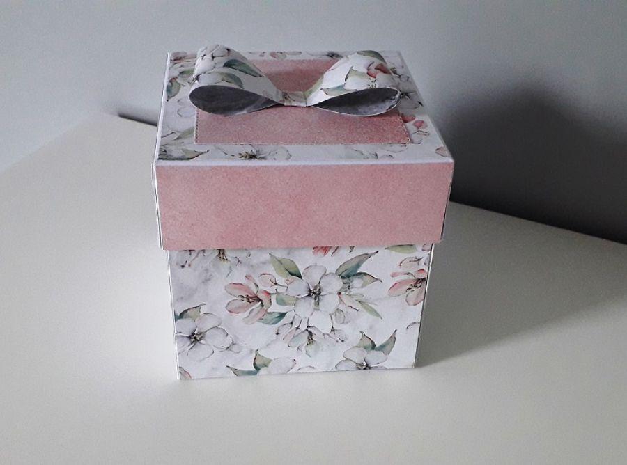 Exploding Box Ślubny na ślub para młoda
