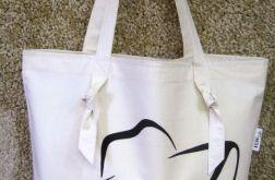 Bawełniana torba na zakupy - LADY 3