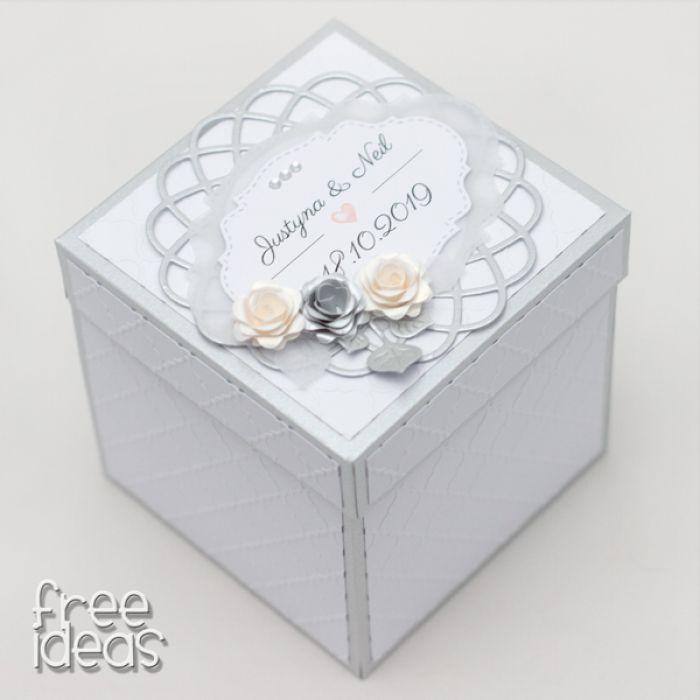 Pudełeczko dla Młodej Pary EBS19016 - box slubny