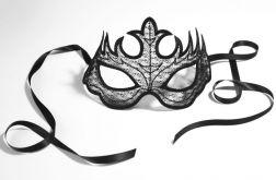 Jedwabna delikatna maska