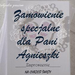Zamówienie specjalne dla Pani Agnieszki