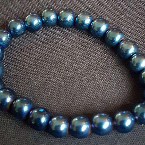 Niebieski hematyt