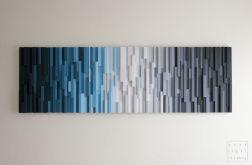 """Obraz drewniany 3D Mozaika drewniana """"A"""""""