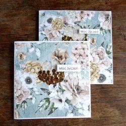 Zestaw dwóch kart Kwiat SHAKER