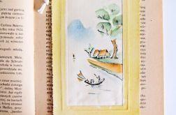 Zakładka do książki malowana 5