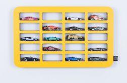 Półka na resoraki SAMOCHODZIKI | żółty