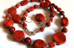 Zestaw biżuterii z koralowca, 2 elementy