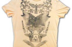 XL-Wilki-koszulka z nadrukiem