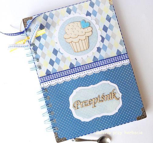 Przepiśnik niebieski z muffinką